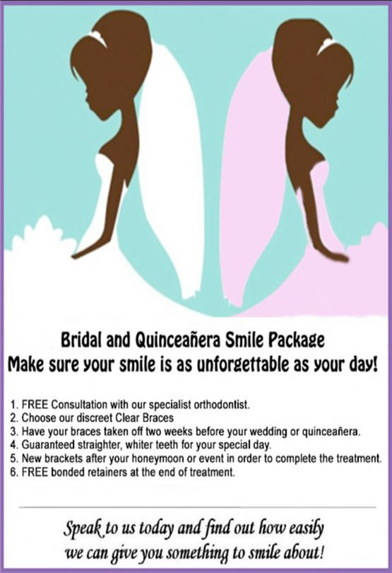 Bridal and Quinceñera Smile Package